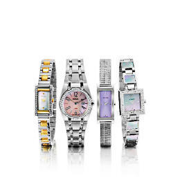 PULSAR LADIES SILVER SQUARE MOP SET WATCH Reviews