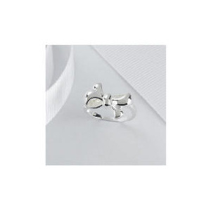 Photo of STERLING SILVER BOW RING, SMALL Jewellery Woman