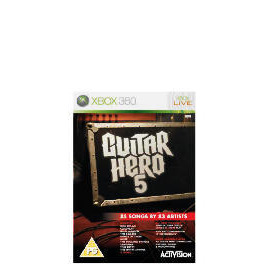 Guitar Hero 5 - Game Only (Xbox 360) Reviews