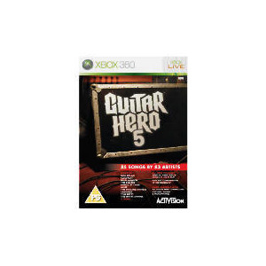 Photo of Guitar Hero 5 - Game Only (XBOX 360) Video Game