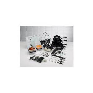 Photo of 50PC Steel & Non Stick Kitchen Starter Set Kitchen Utensil