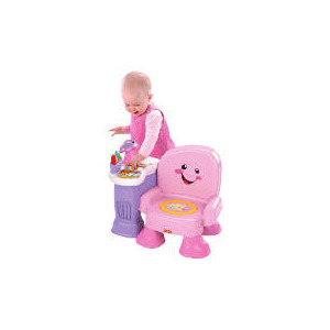 Photo of Fisher-Price Laugh & Learn Pink Musical Chair Toy