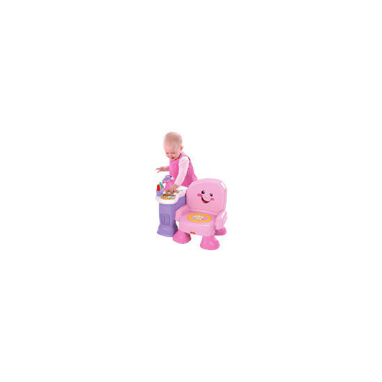 Fisher-Price Laugh & Learn Pink Musical Chair