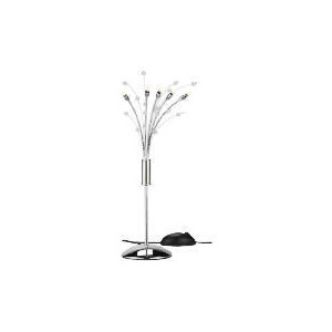 Photo of Tesco Chrome Hydra Table Lamp Lighting