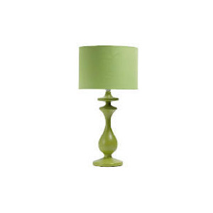 Photo of Tesco Spindle Table Lamp, Lime Lighting