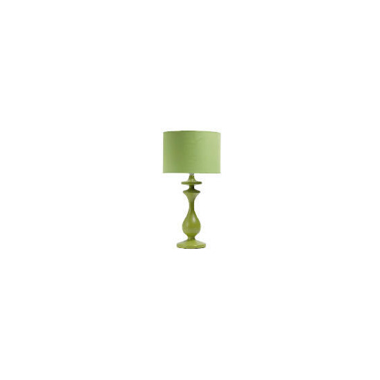 Tesco Spindle Table Lamp, Lime