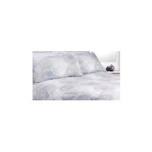 Photo of Tesco Dandelion Print Duvet Set Kingsize, Winter White Bed Linen