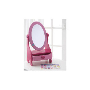 Photo of Tesco Sparkle & Glitz Decorate Wooden Vanity Mirror Toy
