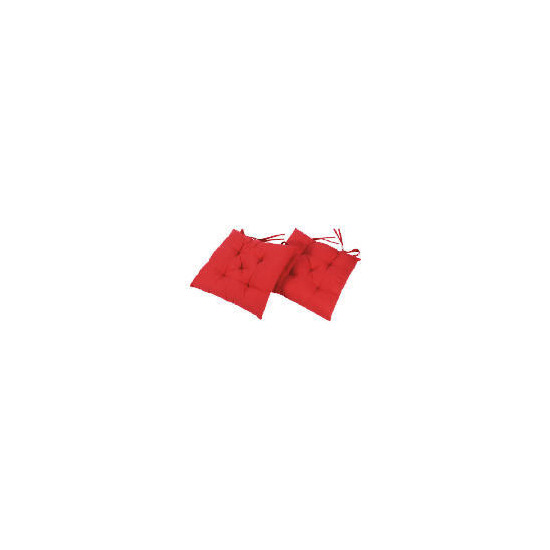 Tesco seat pads 2pk Red