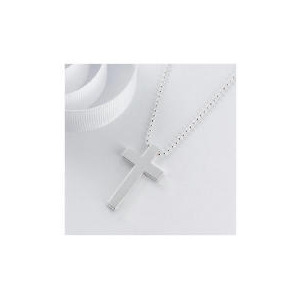 Photo of Sterling Silver Cross Pendant Jewellery Woman