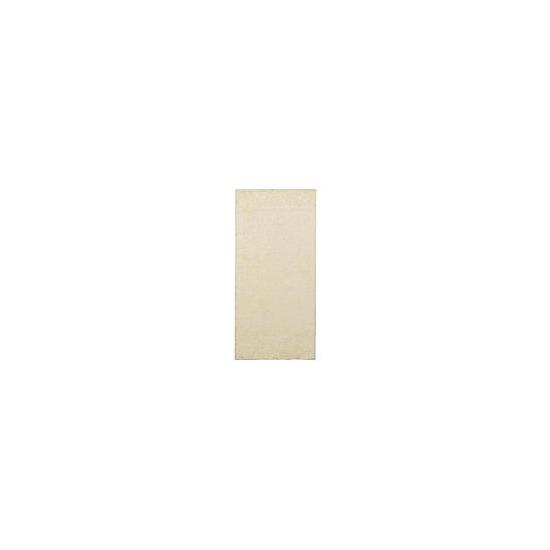 Tesco Shaggy Rug 60x120cm Cream
