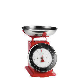 Tesco Enamel Weigh Scale Red 5kg Reviews