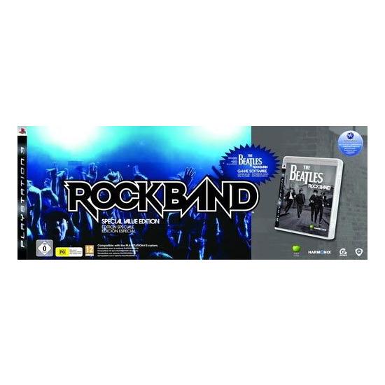 The Beatles: Rock Band - Value Bundle (PS3)