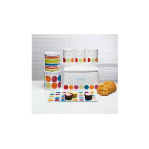 Photo of Tesco Bright Spot Bread Bin & Biscuit Barrel Kitchen Accessory