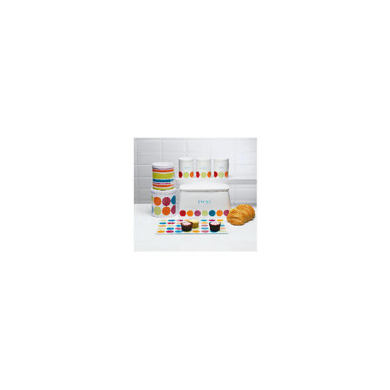 Tesco Bright Spot Bread Bin & Biscuit barrel