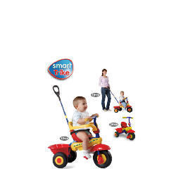 Smart Trike 3-in-1 Red/Yellow Reviews