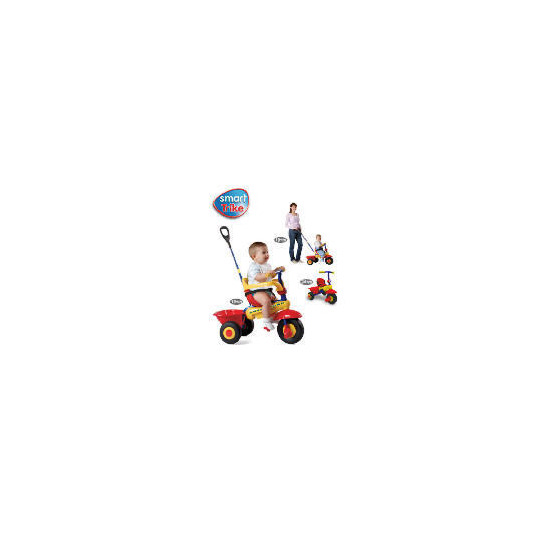 Smart Trike 3-in-1 Red/Yellow