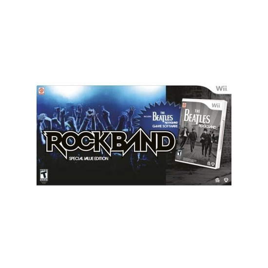 The Beatles: Rock Band - Value Bundle (Wii)