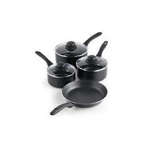 Photo of Tesco Aluminium 4 Piece Pan Set Cookware