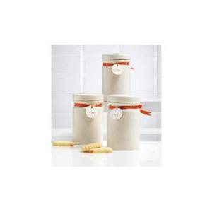 Photo of Tesco Ribbon Ceramic Storage Set Kitchen Accessory