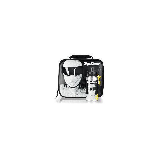Top Gear Stig Lunch bag & bottle