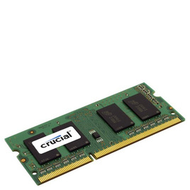 Crucial 8 GB DDR3L 1600 MT/s CL11 SODIMM 204-Pin 1.35 V/1.5 V Memory for Mac