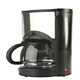 Sainsbury's Filter Coffee Maker Black/Stainless Steel