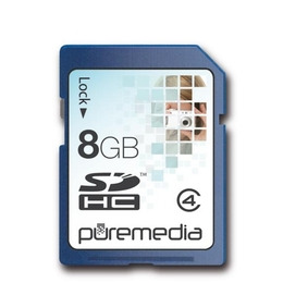 PURE MEDIA 8GB SDHC MEMORY Reviews