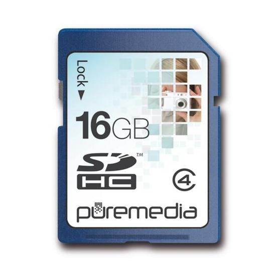 PURE MEDIA 16GBSDHC MEMORY