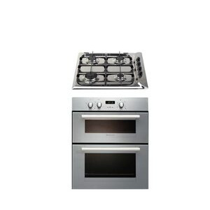 Photo of Hotpoint UY46X/2 + G640X Cooker