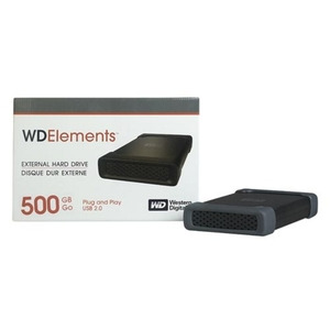 Photo of WD Elements 500GB External Hard Drive