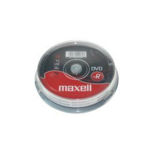 Photo of Maxell DVD-R 10 Pack DVD R