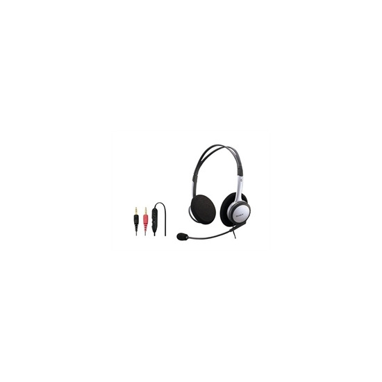 DR-220DPV Stereo PC headset|Colour|Silver