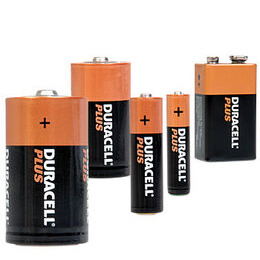 Plus Batteries - Duracell 9 Volt