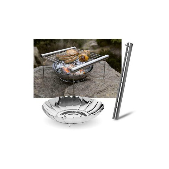 Grilliput Camping Set - Fire Bowl