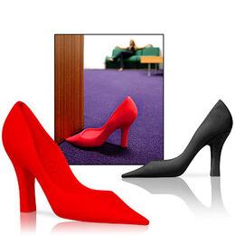 Foot in the Door - Red Stiletto