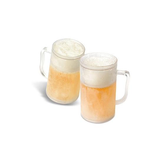 Frosty Beer Mugs - Set of 6
