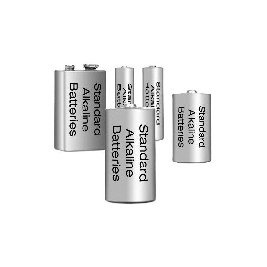 Standard Batteries - One 9 Volt