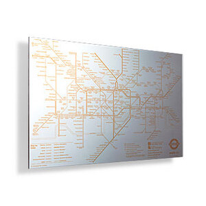 Photo of Tube Map Mirror Gadget