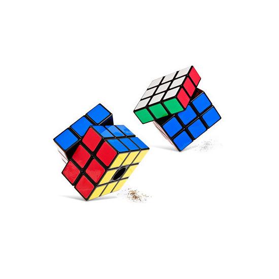 Rubik's Cube Salt Mill