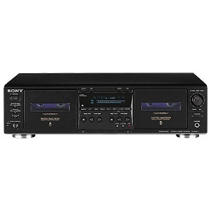 Photo of Sony TC-WE475 Black HiFi System