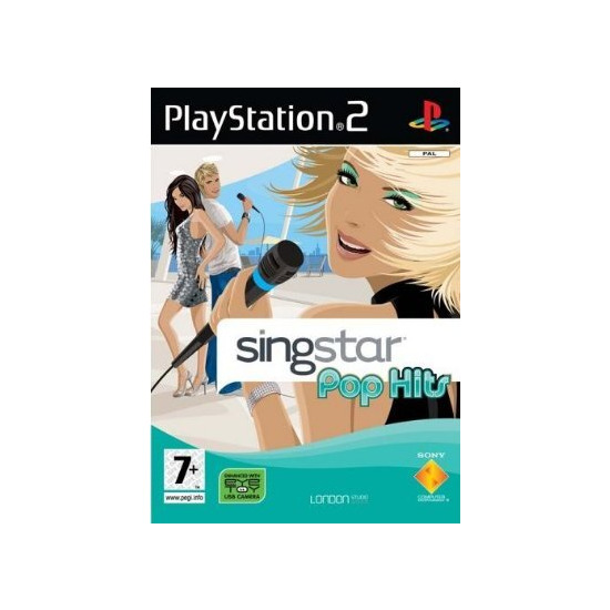 Singstar Pop Hits - Game Only (PS2)