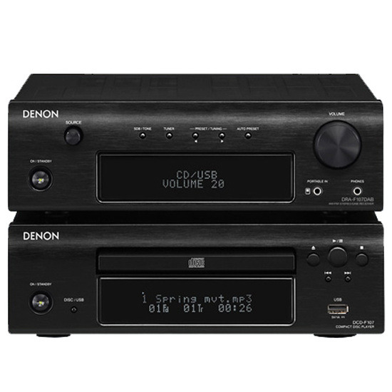 Denon DF107DAB+ without speakers