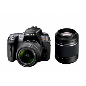 Photo of Sony Alpha DSLR-A550Y With 18-55MM and 55-200MM Lenses Digital Camera