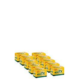 Kodak Tri X 400 35MM 36 Exposure Pack Of 10 Reviews
