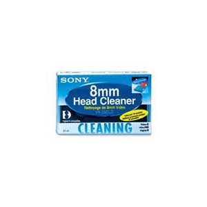 Photo of Sony V825CL 8MM HI8 Digital 8 Head Cleaner Tape Camcorder Accessory