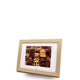 "Imagin 8"" Digital Picture Frame/ Media Player (Light Wood Type) Reviews"