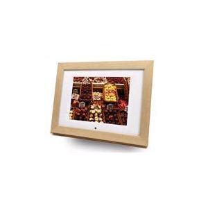 "Photo of Imagin 8"" Digital Picture Frame/ Media Player (Light Wood Type) Digital Photo Frame"