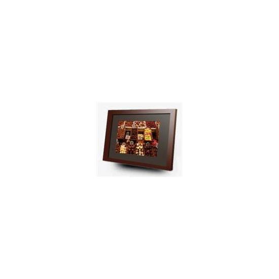 Imagin 10 Digital Frame Media Player Cherry Wood