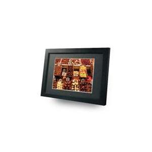 Photo of Imagin 15 Digital Photo Frame Media Player Black Wood Digital Photo Frame